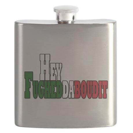 hey fugedadaboudit(blk).png Flask