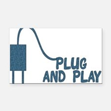 plug_and_play01.png Rectangle Car Magnet