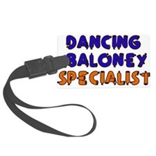 dancing_baloney01.png Luggage Tag