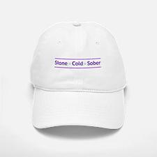 Stone Cold Sober Baseball Baseball Cap