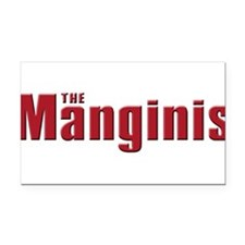 mangini.white.png Rectangle Car Magnet