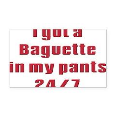 baguette.png Rectangle Car Magnet