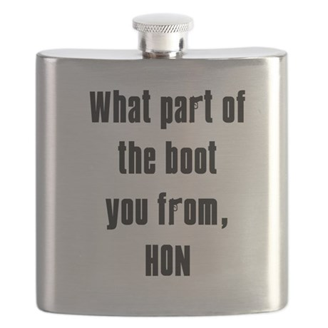 WHITE Boot.png Flask