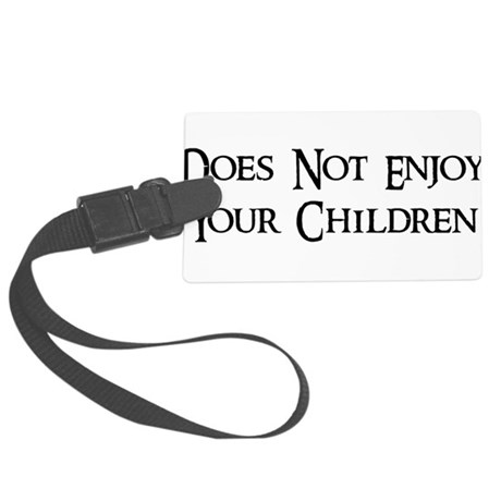 child_free_by_choice01.png Large Luggage Tag
