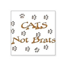 """cats01.png Square Sticker 3"""" x 3"""""""