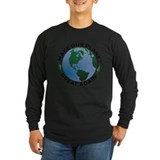 Make our planet great again Long Sleeve T-shirts (Dark)