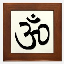 Yoga Icon Framed Tile