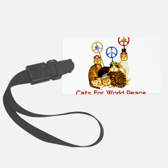 peacecats01.png Luggage Tag