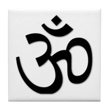 Yoga Icon Tile Coaster