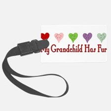 dogfur01a.png Luggage Tag