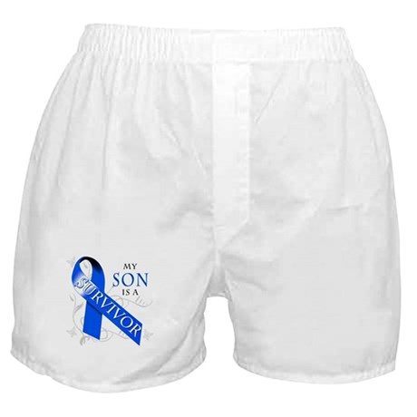 My Son is a Survivor Boxer Shorts
