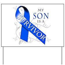 My Son is a Survivor Yard Sign
