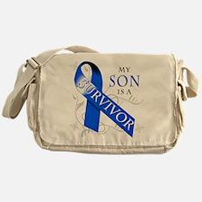 My Son is a Survivor Messenger Bag