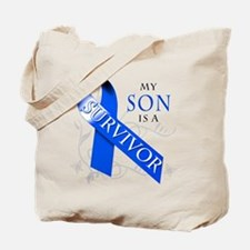 My Son is a Survivor Tote Bag