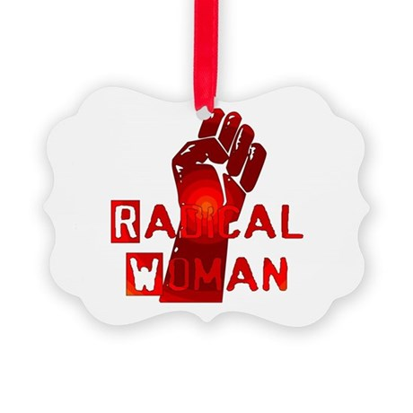 radical_woman01.png Picture Ornament