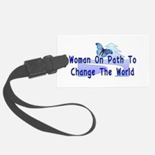 woman_strong01.png Luggage Tag