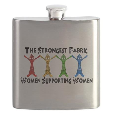 Women Supporting Women Flask