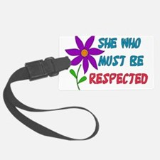 respect01.png Luggage Tag