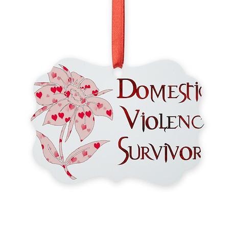 domestic_violencesurvivor01.png Picture Ornament