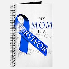 My Mom is a Survivor (blue) Journal