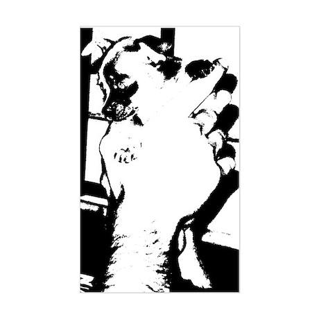 pup by zane.doe Rectangle Sticker