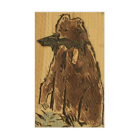 oso by zane.doe Rectangle Sticker