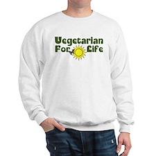 Vegetarian For Life Sweatshirt