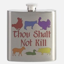 Thou Shalt Not Kill Flask