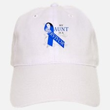 My Aunt is a Survivor (blue) Baseball Baseball Cap