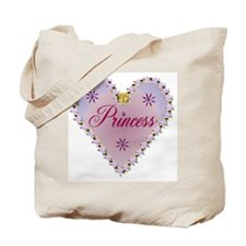 Princess Heart Tote Bag