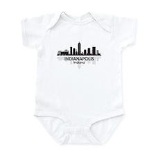 Indianapolis Skyline Infant Bodysuit