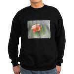 Romantic Rose and Lavender Sweatshirt (dark)