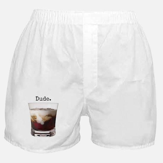 Big Lebowski White Russian Boxer Shorts