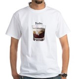 Big lebowski Mens White T-shirts