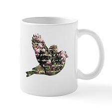 Inspired Pink Roses Bird Mug