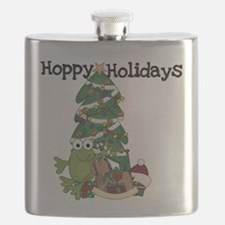Frog Hoppy Holidays Flask