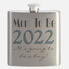 2017 Future Mom of Boy Flask