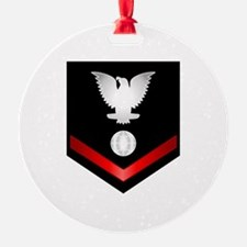 Navy PO3 Electrician's Mate Ornament