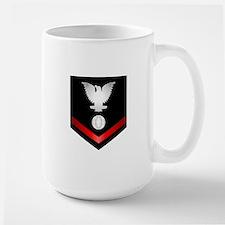 Navy PO3 Electrician's Mate Large Mug