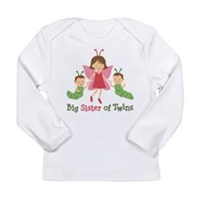 Big Sister of Twins - Butterfly Long Sleeve Infant