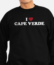 I Love Cape Verde Sweatshirt (dark)