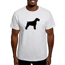 Floppy Ears Schnauzer T-Shirt