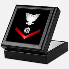 Navy PO3 Engineman Keepsake Box