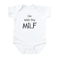 I'm With MILF Infant Creeper