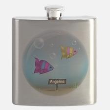 Under the Sea Aquarium - Personalized Flask