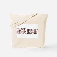 Country Wedding Bride Tote Bag