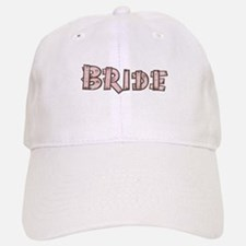 Country Wedding Bride Baseball Baseball Cap