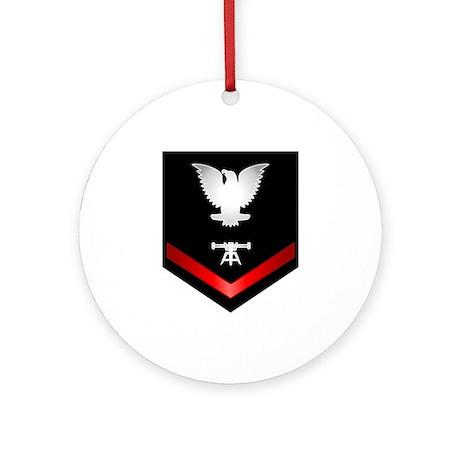 Navy PO3 Fire Control Technician Ornament (Round)