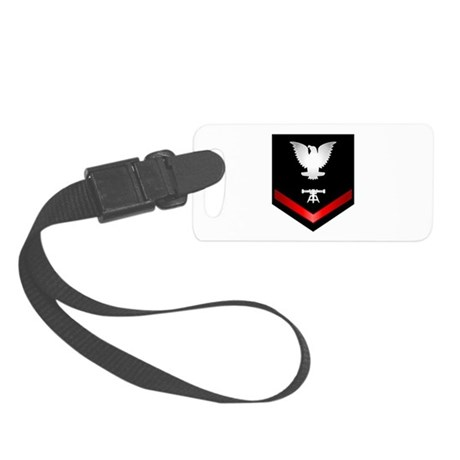 Navy PO3 Fire Control Technician Small Luggage Tag