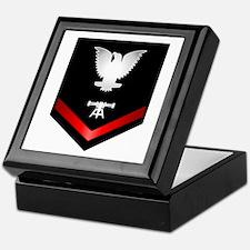 Navy PO3 Fire Control Technician Keepsake Box